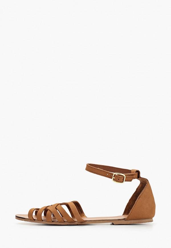 женские сандалии dorothy perkins, коричневые