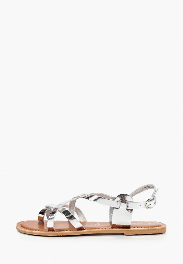 женские сандалии dorothy perkins, серебряные