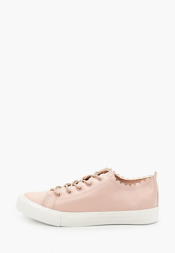 женские кеды dorothy perkins, розовые
