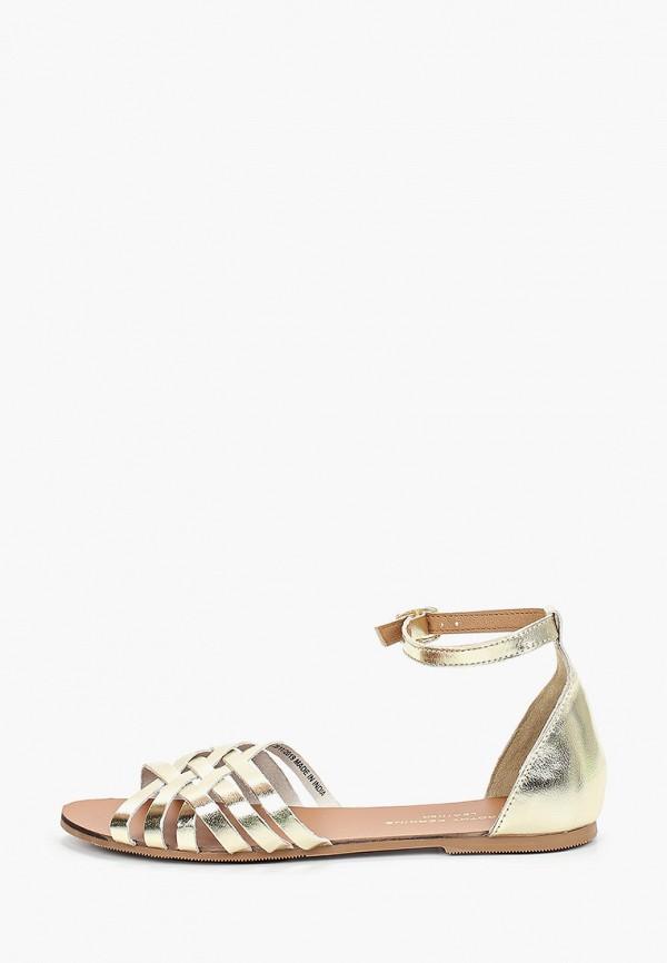 женские сандалии dorothy perkins, золотые