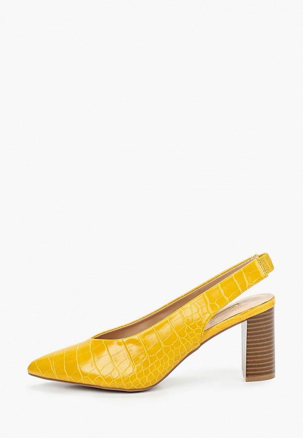 женские туфли dorothy perkins, желтые