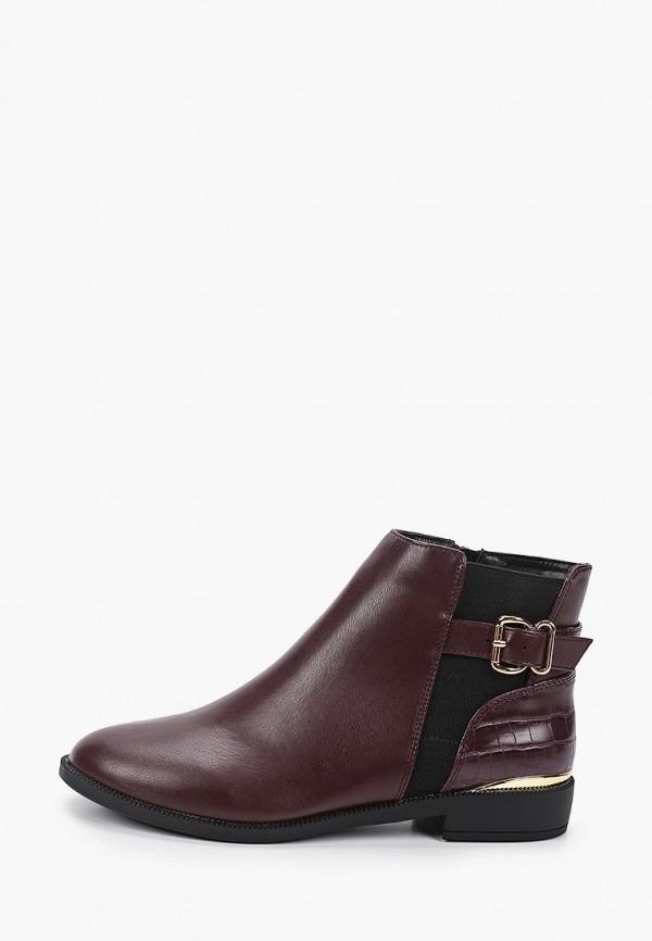 женские ботинки dorothy perkins, бордовые