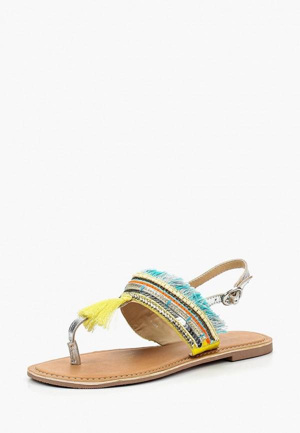 Женские осенние кожаные сандалии