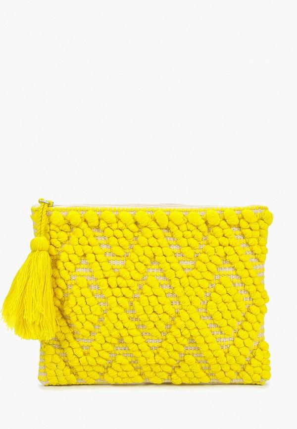 женский клатч dorothy perkins, желтый