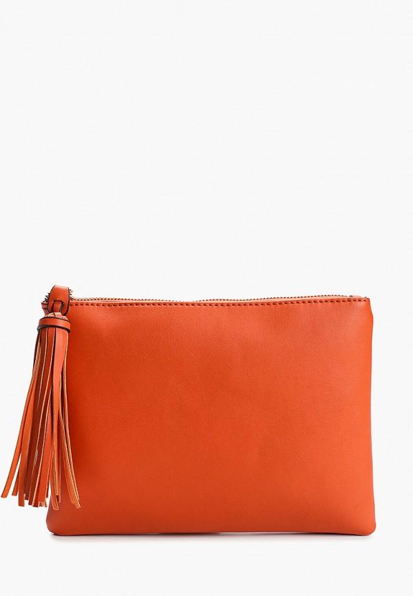 женский клатч dorothy perkins, оранжевый