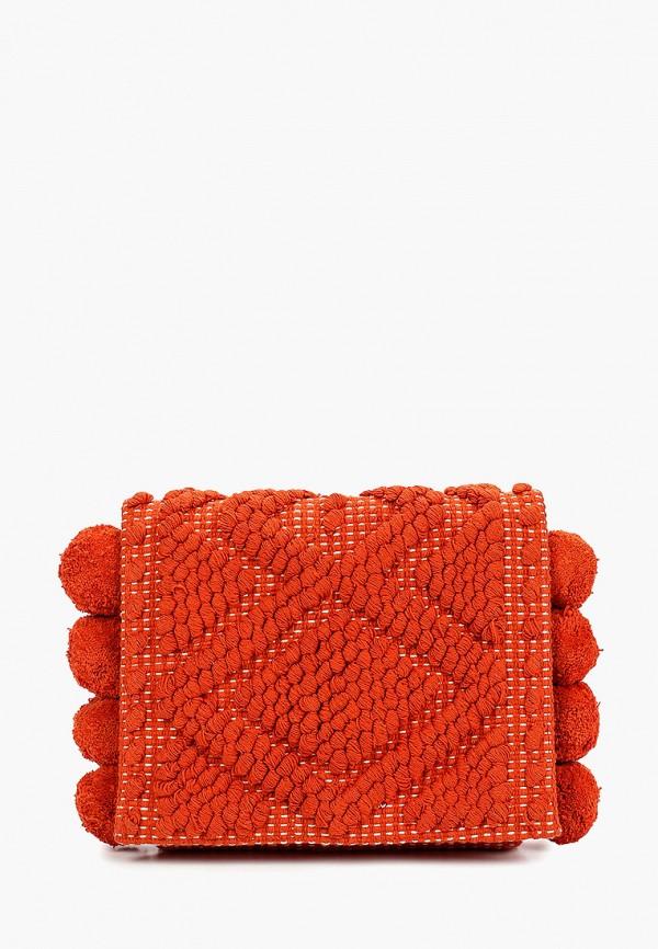 женская сумка dorothy perkins, оранжевая