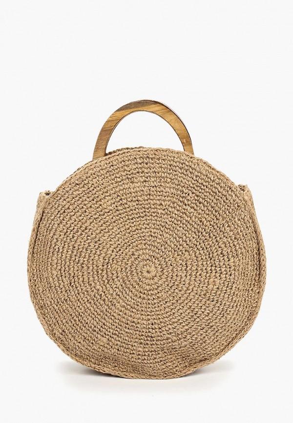 женская сумка dorothy perkins, бежевая