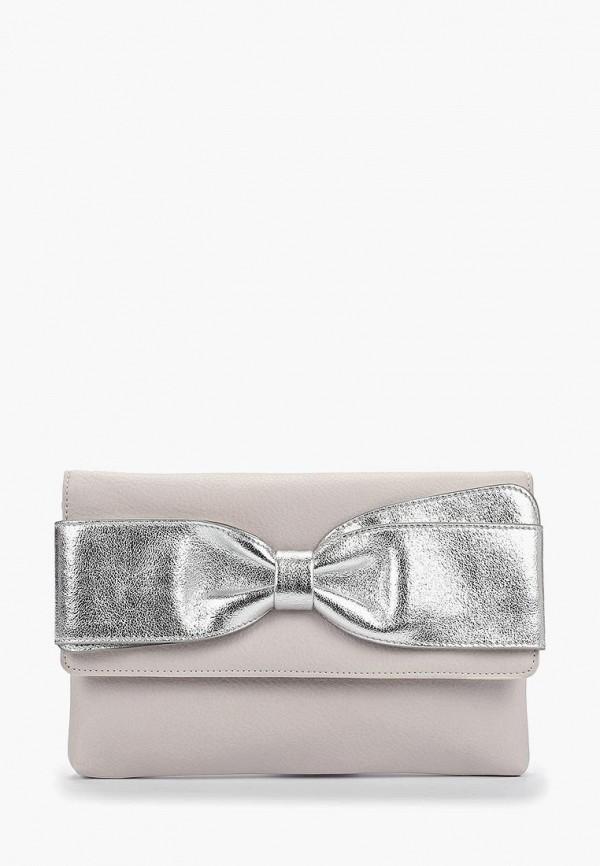 женский клатч dorothy perkins, серый