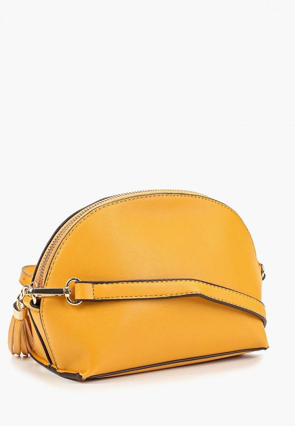 Фото 2 - женскую сумку Dorothy Perkins желтого цвета
