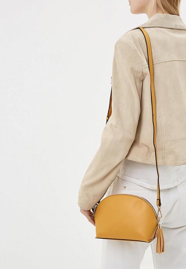 Фото 4 - женскую сумку Dorothy Perkins желтого цвета