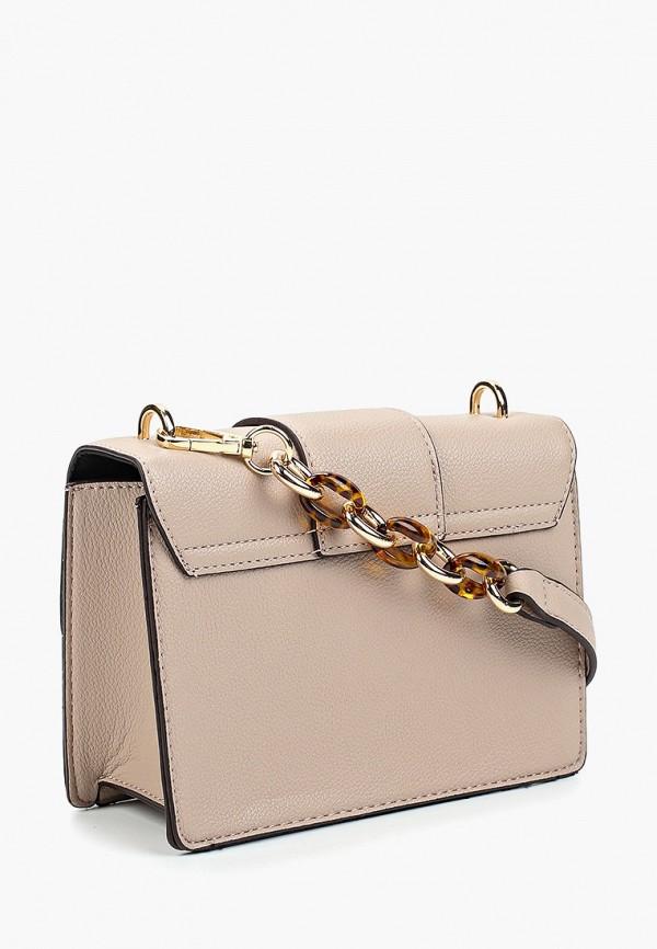 Фото 2 - Женскую сумку Dorothy Perkins бежевого цвета