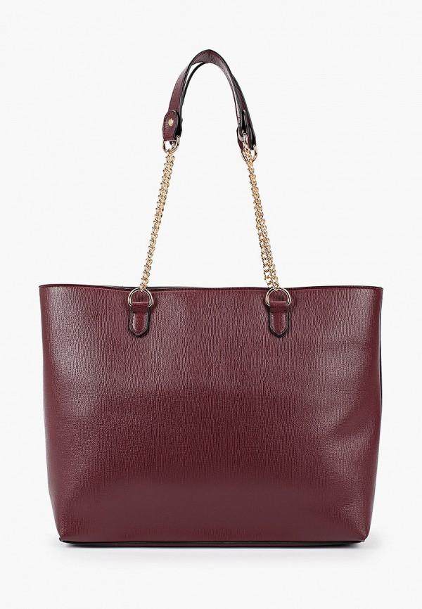 женская сумка dorothy perkins, бордовая
