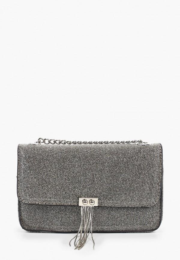 женская сумка dorothy perkins, серебряная