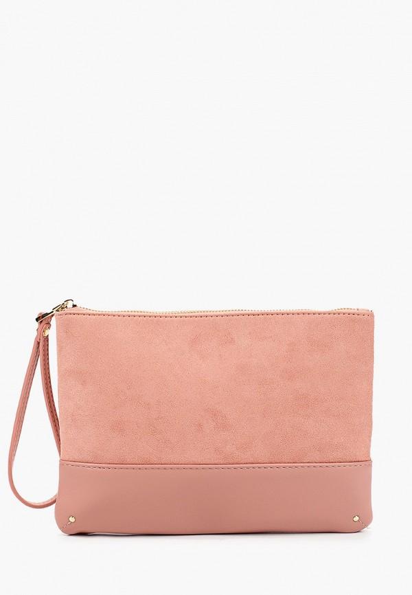 женский клатч dorothy perkins, розовый