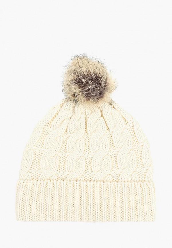 женская шапка dorothy perkins, бежевая