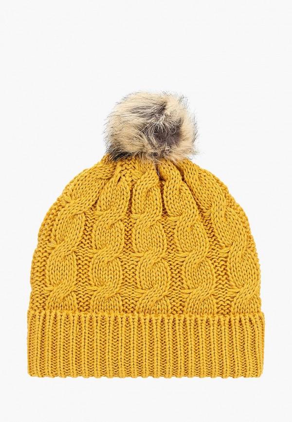 женская шапка dorothy perkins, желтая