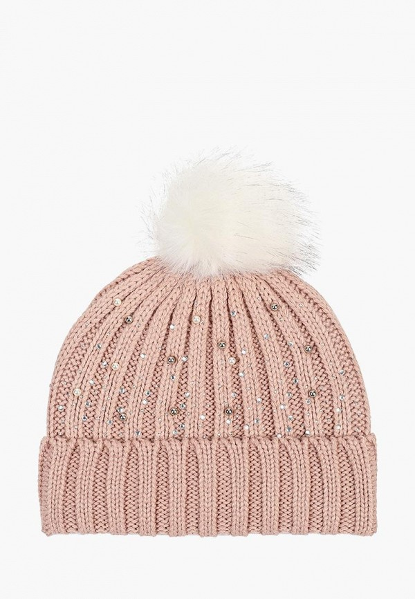 женская шапка dorothy perkins, розовая