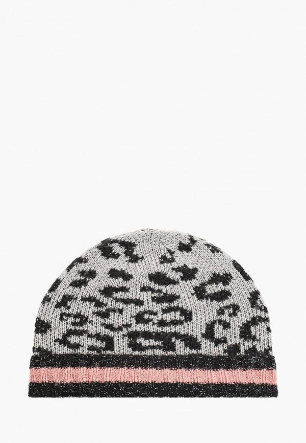 женская шапка dorothy perkins, серая