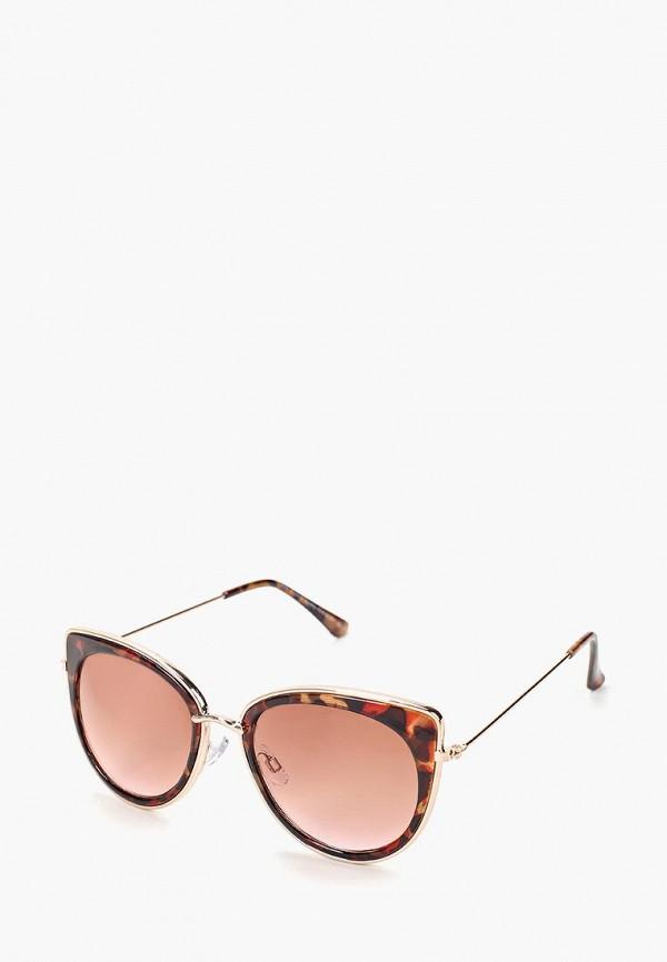 женские солнцезащитные очки dorothy perkins, коричневые