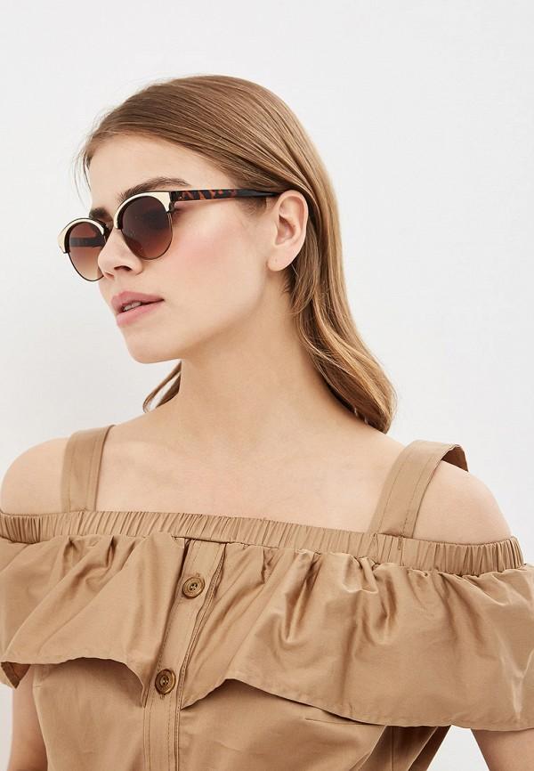 Фото 3 - Очки солнцезащитные Dorothy Perkins коричневого цвета