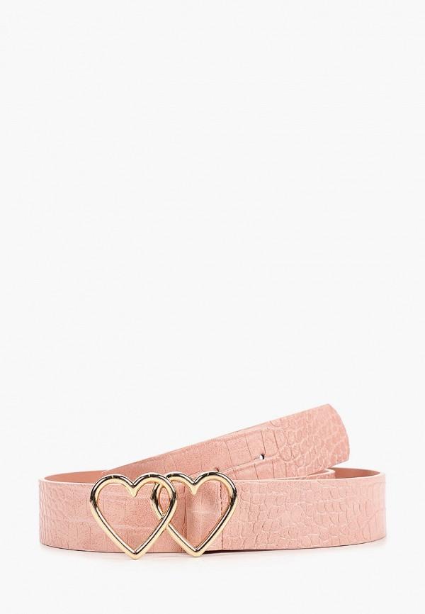женский ремень dorothy perkins, розовый