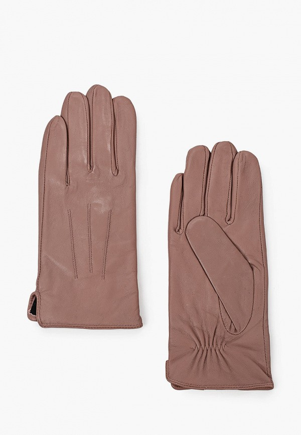 женские кожаные перчатки dorothy perkins, розовые