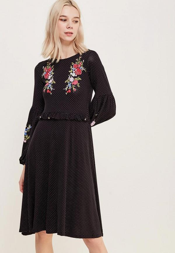 Купить Платье Dorothy Perkins, DO005EWAHZD4, черный, Весна-лето 2018