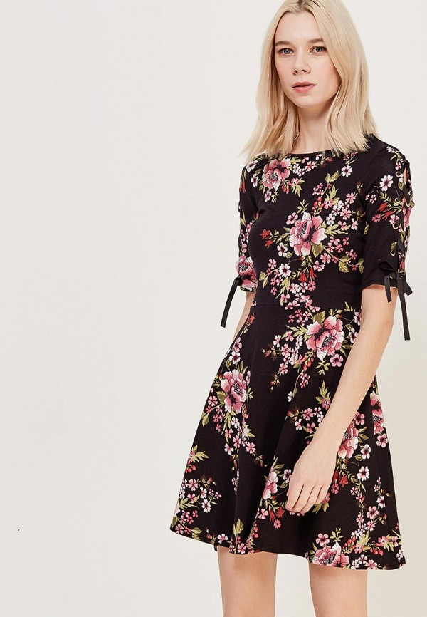 Купить Платье Dorothy Perkins, DO005EWAHZE1, черный, Весна-лето 2018