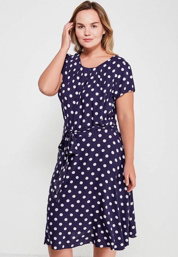 Купить Платье Dorothy Perkins Curve, do005ewahzf2, синий, Весна-лето 2018