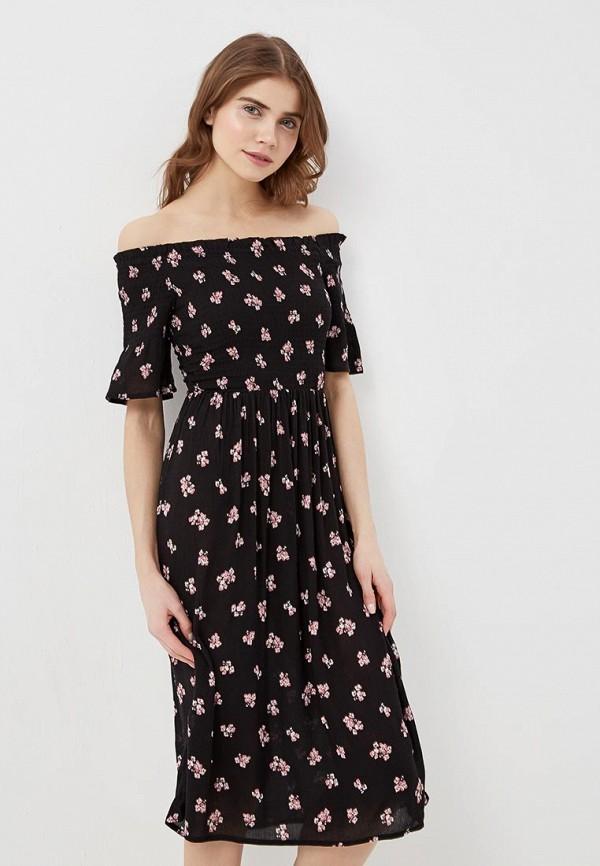 Купить Платье Dorothy Perkins, DO005EWASGB1, черный, Осень-зима 2018/2019