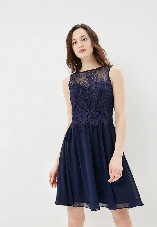 Купить Платье Dorothy Perkins, DO005EWAVTS9, синий, Весна-лето 2018