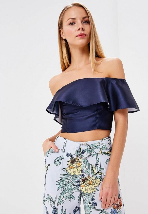 Купить Блуза Dorothy Perkins, do005ewbajc9, синий, Весна-лето 2018