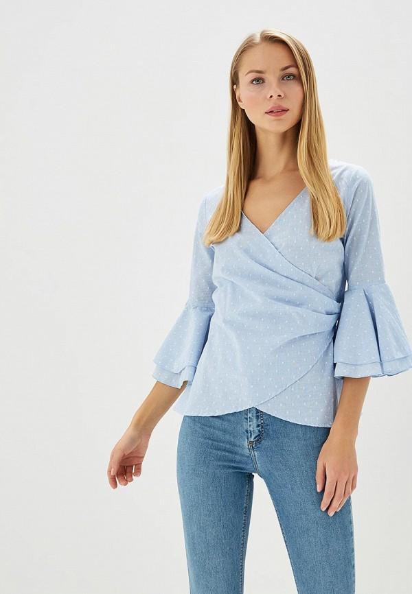 Купить Блуза Dorothy Perkins, DO005EWBAJJ1, голубой, Весна-лето 2018