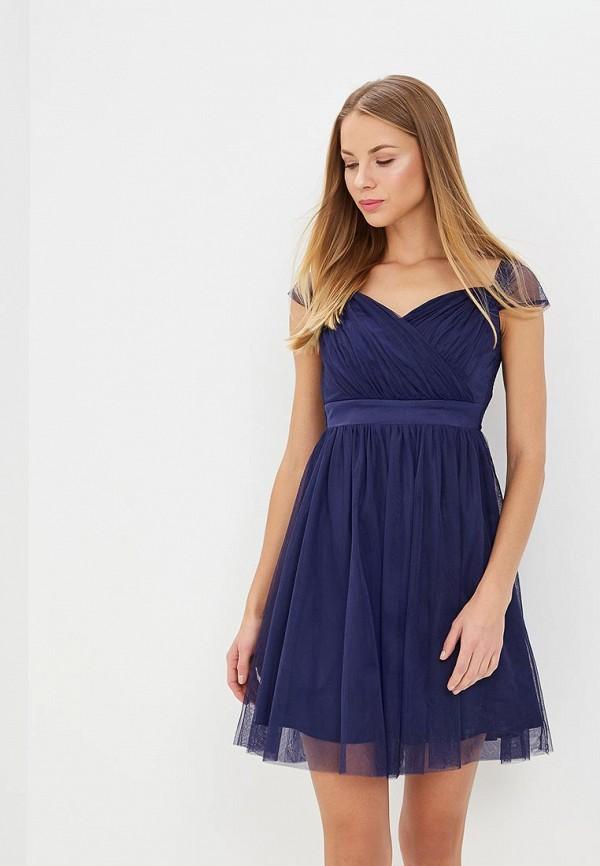 Купить Платье Dorothy Perkins, DO005EWBBXN8, синий, Весна-лето 2018