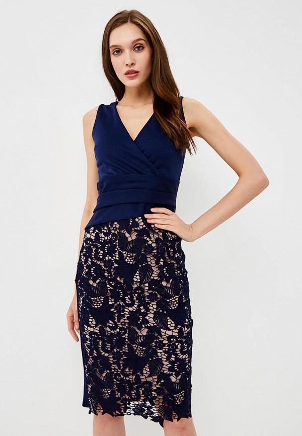 Купить Платье Dorothy Perkins, DO005EWBEUQ6, синий, Весна-лето 2018