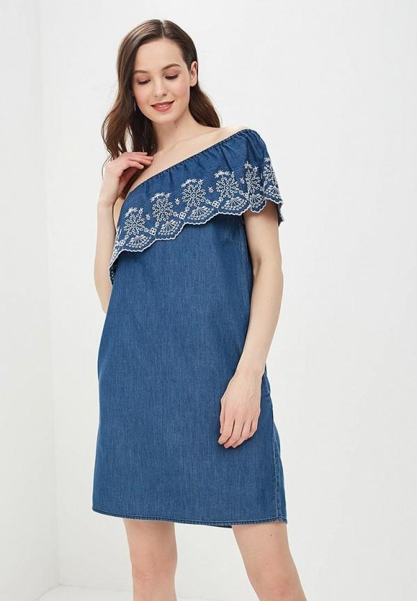 Купить Платье джинсовое Dorothy Perkins, DO005EWBHBE3, синий, Весна-лето 2018