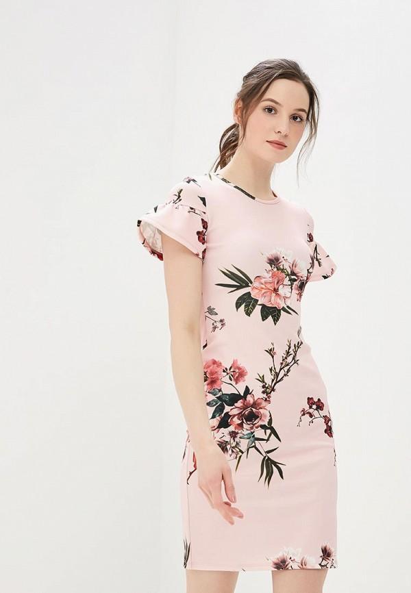 Платье Dorothy Perkins, DO005EWBJDD7, розовый, Весна-лето 2018  - купить со скидкой