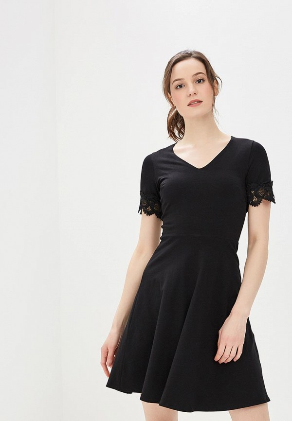 Платье Dorothy Perkins, DO005EWBJDE5, черный, Весна-лето 2018  - купить со скидкой