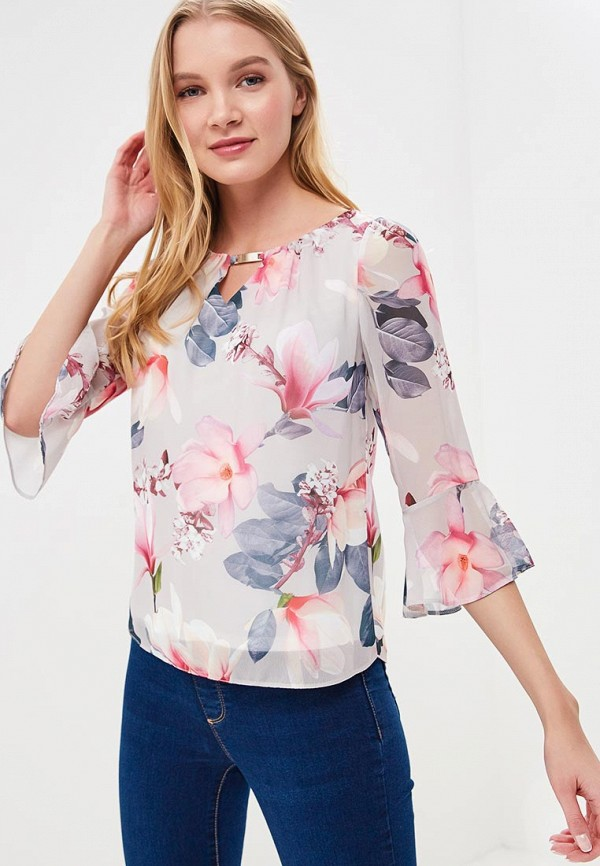 Купить Блуза Dorothy Perkins, DO005EWBJDE8, серый, Весна-лето 2018