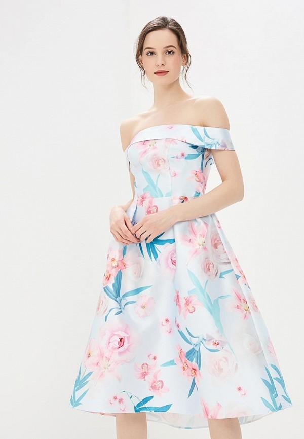 женское повседневные платье dorothy perkins, голубое