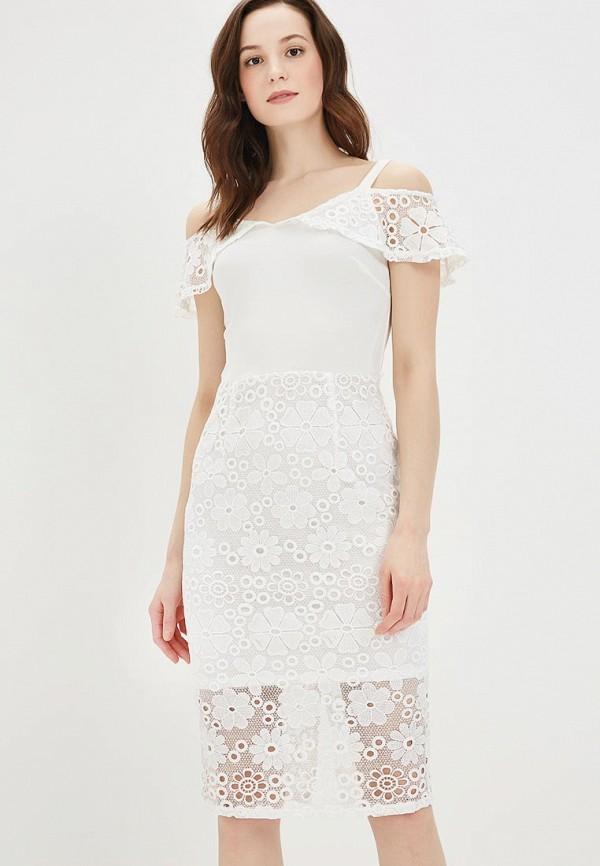 Купить Платье Dorothy Perkins, do005ewblxo4, белый, Весна-лето 2018