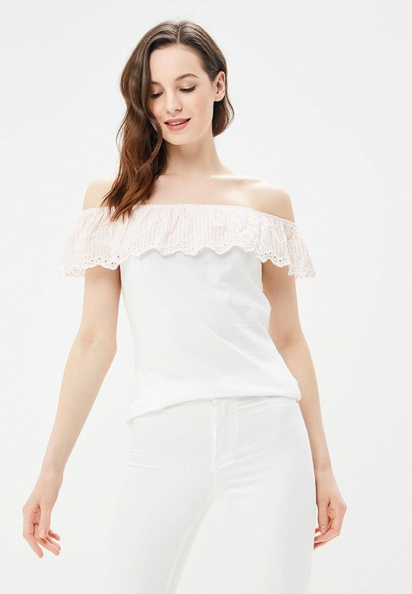 Купить Блуза Dorothy Perkins, do005ewblxr8, белый, Весна-лето 2018