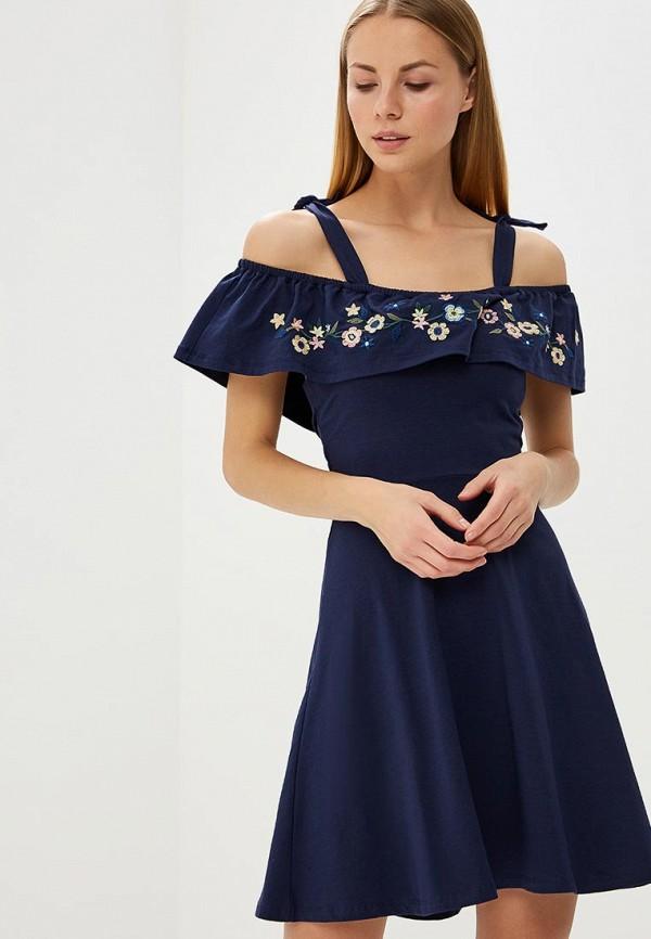 Купить Платье Dorothy Perkins, DO005EWBONJ6, синий, Весна-лето 2018