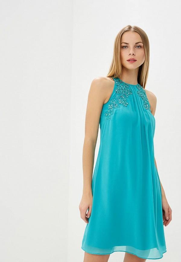 женское вечерние платье dorothy perkins, бирюзовое