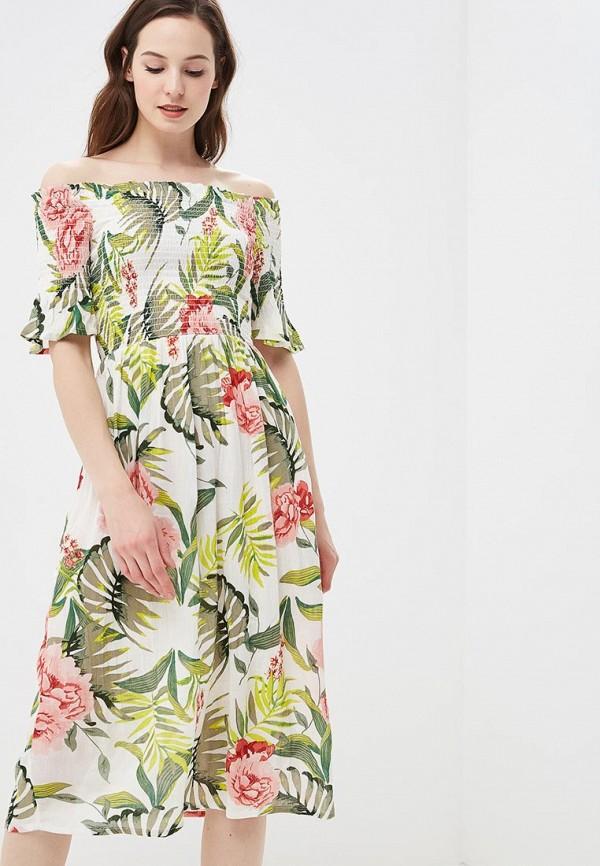 Купить Платье Dorothy Perkins, DO005EWBYDO4, белый, Осень-зима 2018/2019
