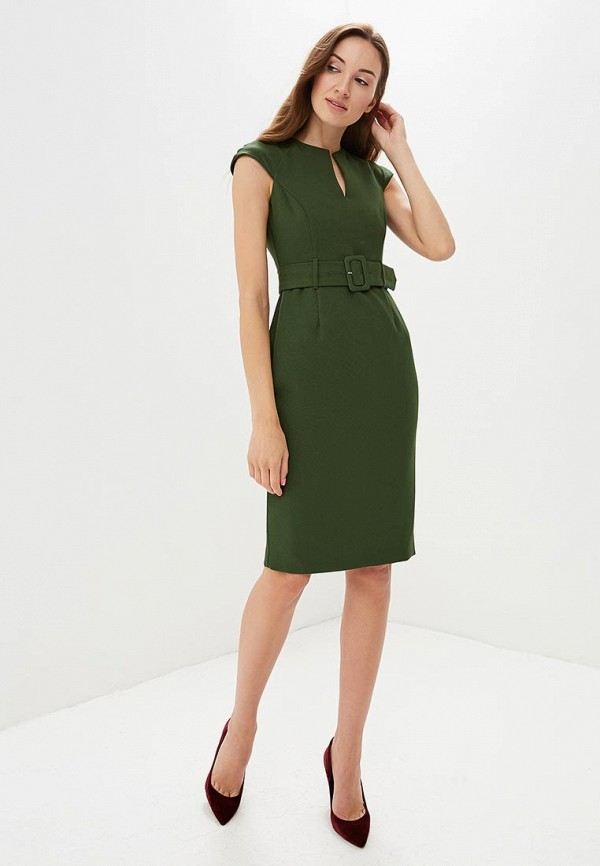 Фото 2 - женское платье Dorothy Perkins зеленого цвета