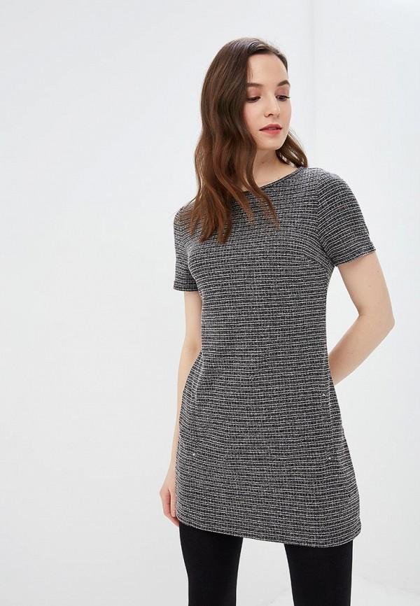 женское повседневные платье dorothy perkins, серое
