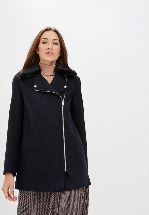 женское пальто dorothy perkins, синее