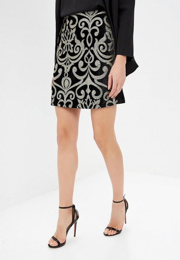 женская юбка dorothy perkins, черная