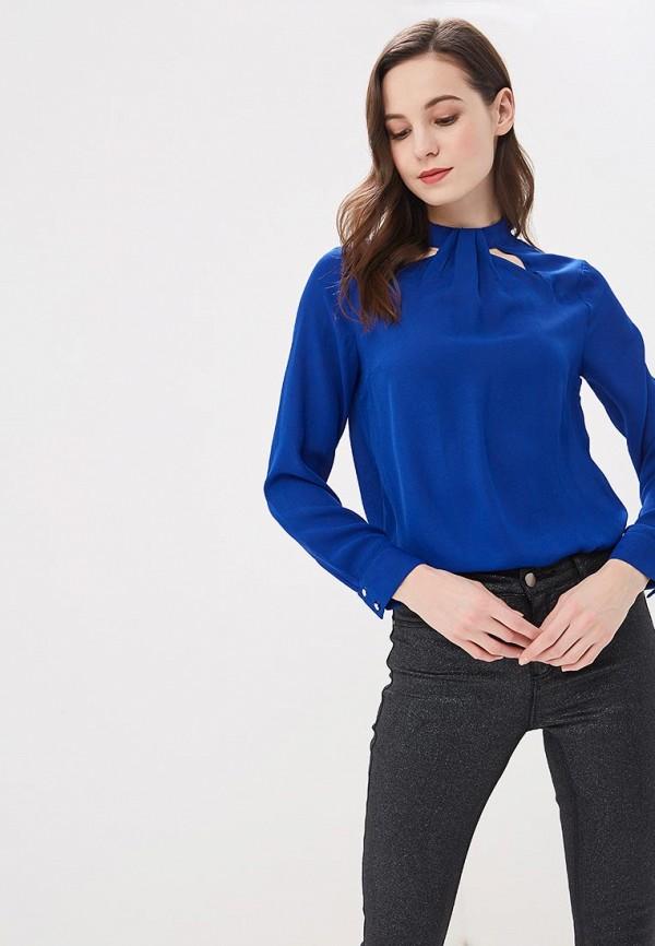 женская блузка dorothy perkins, синяя